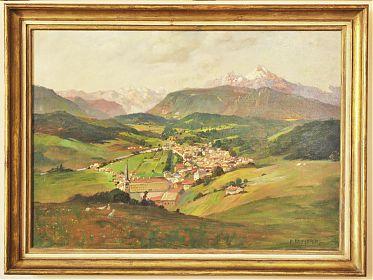 Ankauf Gemälde : Chiemseemaler/Chiemsee