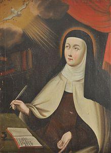 Ankauf Gemälde : Teresa von Avila : Öl/Lwd., 18. Jh.