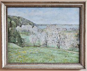 Rudolf Sieck : Frühling am Bodensee