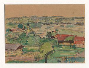 Ankauf Gemälde München : Walter Marcuse : Gegend um den Chiemsee.  - Ankauf Gemälde/Kunsthandel Joseph Steutzger