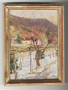 ZUSCHREIBUNG : Feri / Ferdinand Schwarz (1869 Moskau-1923 Wien) : Locarno / Tessin. - Zwei Ölstudien, 1918 // Buch- und Kunst-Antiquariat Joseph Steutzger / www.steutzger.de